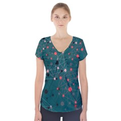 Pattern Seekers The Good The Bad And The Ugly Short Sleeve Front Detail Top