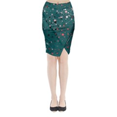 Pattern Seekers The Good The Bad And The Ugly Midi Wrap Pencil Skirt