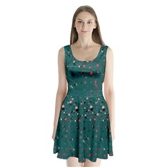 Pattern Seekers The Good The Bad And The Ugly Split Back Mini Dress