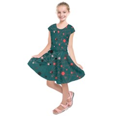 Pattern Seekers The Good The Bad And The Ugly Kids  Short Sleeve Dress