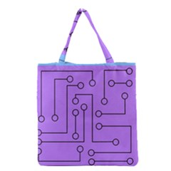 Peripherals Grocery Tote Bag