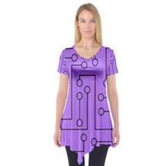 Peripherals Short Sleeve Tunic