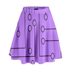 Peripherals High Waist Skirt