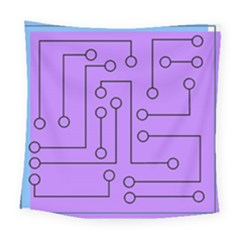 Peripherals Square Tapestry (large)