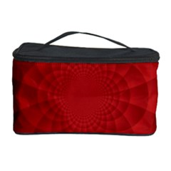 Psychedelic Art Red  Hi Tech Cosmetic Storage Case
