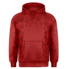 Psychedelic Art Red  Hi Tech Men s Pullover Hoodie