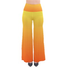 Rainbow Yellow Orange Background Pants