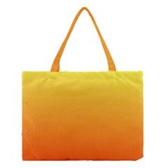 Rainbow Yellow Orange Background Medium Tote Bag