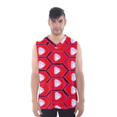 Red Bee Hive Men s Basketball Tank Top