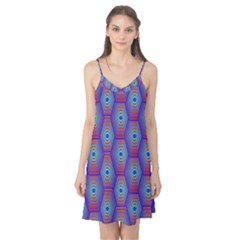 Red Blue Bee Hive Camis Nightgown