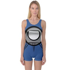 Rocket Ship App Icon One Piece Boyleg Swimsuit