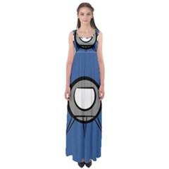 Rocket Ship App Icon Empire Waist Maxi Dress