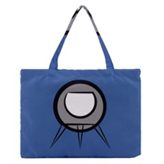 Rocket Ship App Icon Medium Zipper Tote Bag