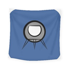 Rocket Ship App Icon Square Tapestry (small)