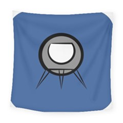 Rocket Ship App Icon Square Tapestry (large)