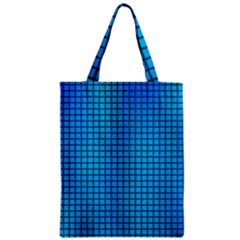 Seamless Blue Tiles Pattern Classic Tote Bag