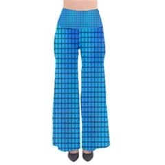 Seamless Blue Tiles Pattern Pants