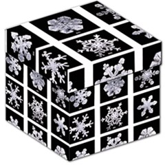 Snowflakes Exemplifies Emergence In A Physical System Storage Stool 12