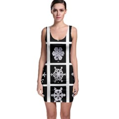 Snowflakes Exemplifies Emergence In A Physical System Sleeveless Bodycon Dress