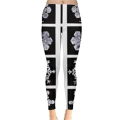 Snowflakes Exemplifies Emergence In A Physical System Leggings