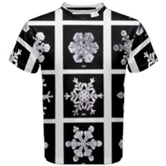 Snowflakes Exemplifies Emergence In A Physical System Men s Cotton Tee