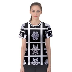 Snowflakes Exemplifies Emergence In A Physical System Women s Sport Mesh Tee