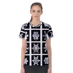 Snowflakes Exemplifies Emergence In A Physical System Women s Cotton Tee