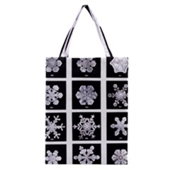 Snowflakes Exemplifies Emergence In A Physical System Classic Tote Bag