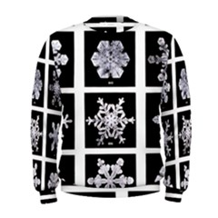 Snowflakes Exemplifies Emergence In A Physical System Men s Sweatshirt