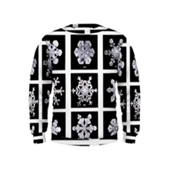 Snowflakes Exemplifies Emergence In A Physical System Kids  Sweatshirt
