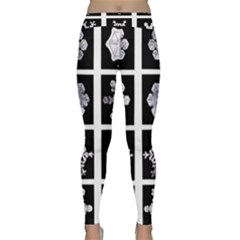 Snowflakes Exemplifies Emergence In A Physical System Classic Yoga Leggings