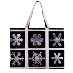 Snowflakes Exemplifies Emergence In A Physical System Zipper Mini Tote Bag