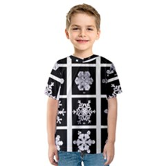 Snowflakes Exemplifies Emergence In A Physical System Kids  Sport Mesh Tee