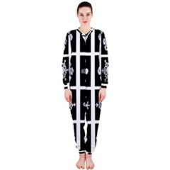 Snowflakes Exemplifies Emergence In A Physical System Onepiece Jumpsuit (ladies)