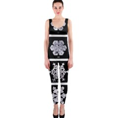 Snowflakes Exemplifies Emergence In A Physical System Onepiece Catsuit