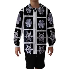 Snowflakes Exemplifies Emergence In A Physical System Hooded Wind Breaker (kids)