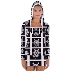 Snowflakes Exemplifies Emergence In A Physical System Women s Long Sleeve Hooded T Shirt