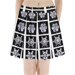 Snowflakes Exemplifies Emergence In A Physical System Pleated Mini Skirt