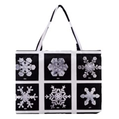 Snowflakes Exemplifies Emergence In A Physical System Medium Tote Bag