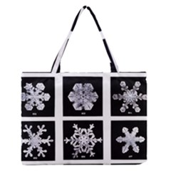 Snowflakes Exemplifies Emergence In A Physical System Medium Zipper Tote Bag