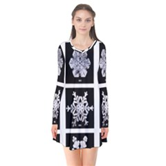 Snowflakes Exemplifies Emergence In A Physical System Flare Dress