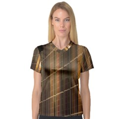 Swisstech Convention Center Women s V-Neck Sport Mesh Tee