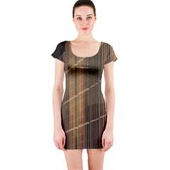 Swisstech Convention Center Short Sleeve Bodycon Dress