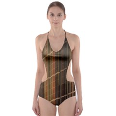 Swisstech Convention Center Cut Out One Piece Swimsuit