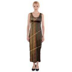 Swisstech Convention Center Fitted Maxi Dress
