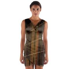 Swisstech Convention Center Wrap Front Bodycon Dress