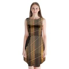 Swisstech Convention Center Sleeveless Chiffon Dress
