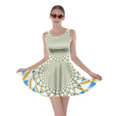 Tech Neon And Glow Backgrounds Psychedelic Art Psychedelic Art Skater Dress