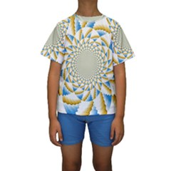 Tech Neon And Glow Backgrounds Psychedelic Art Psychedelic Art Kids  Short Sleeve Swimwear