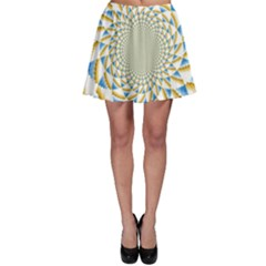 Tech Neon And Glow Backgrounds Psychedelic Art Psychedelic Art Skater Skirt